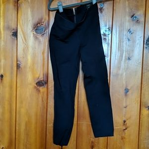 J Crew pixie stretch pants in navy, size 0/S